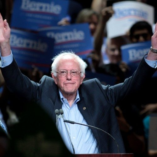 Gary Snyder and Justin Oakley Interview Bernie Sanders