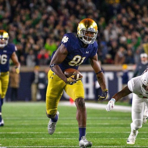 Notre Dame's Miles Boykin Selected By Baltimore Ravens In Third Round