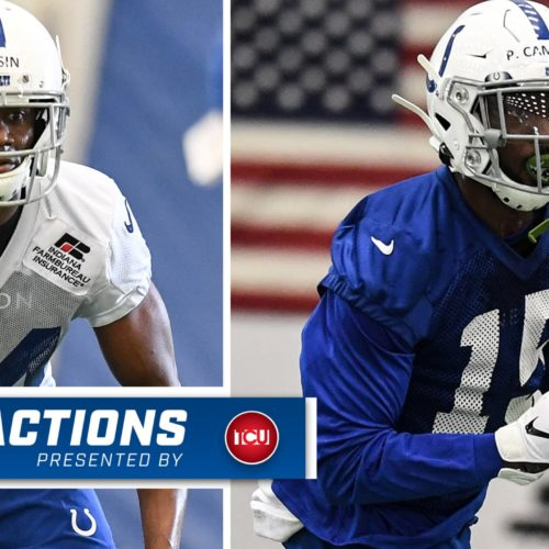 2019 Colts Draft Picks Rock Ya-Sin, Parris Campbell Sign Contracts