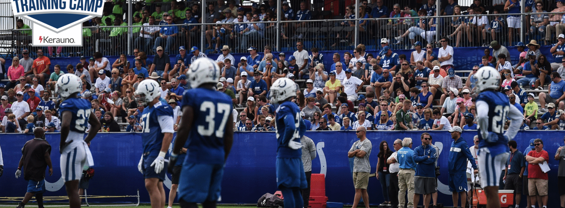 Colts training camp to kick off July 25th