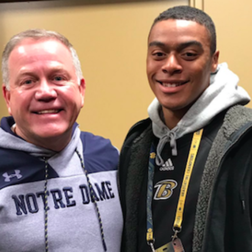 Defensive back Landen Bartleson commits to Notre Dame