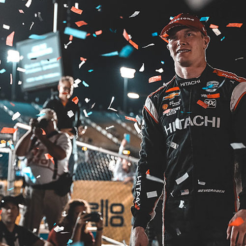 JOSEF NEWGARDEN AGAIN DOMINATES IOWA 300
