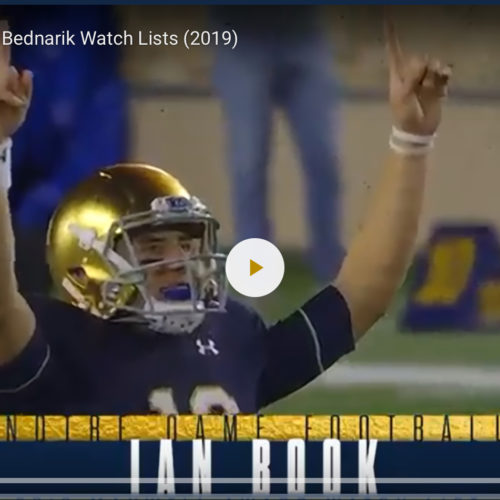 Three Notre Dame players named to preseason watch lists