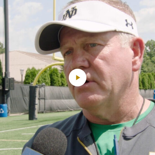 Brian Kelly 8-10-19 Post Practice Interview