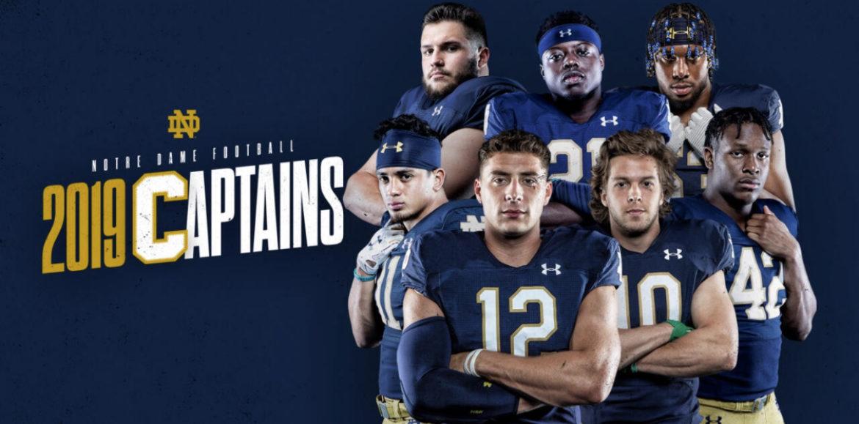 Irish Name 7 Captains for 2019 Season