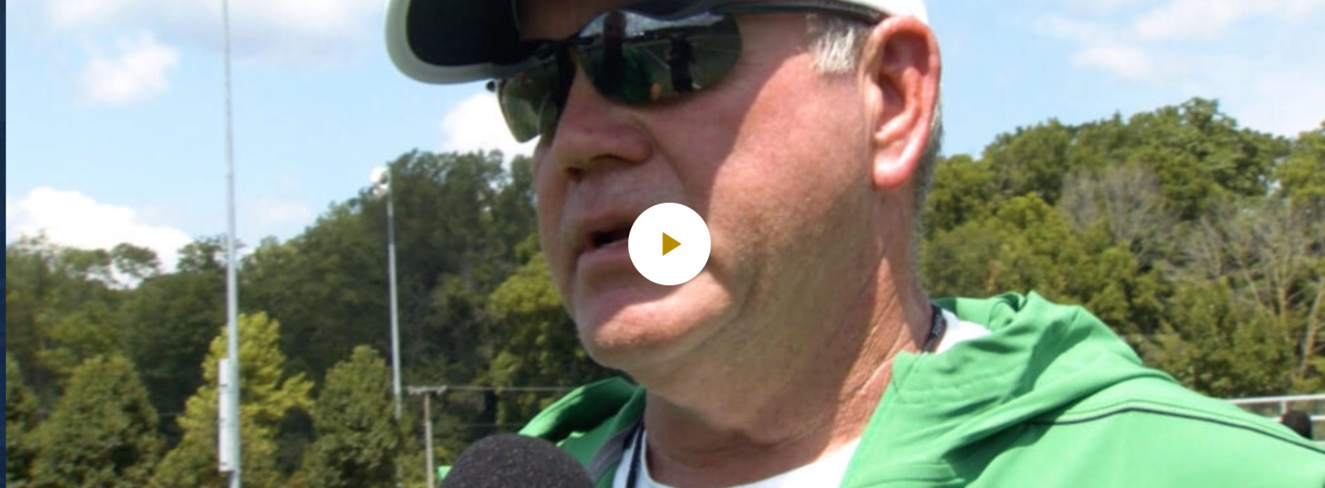Brian Kelly interview after the fourth day of camp.