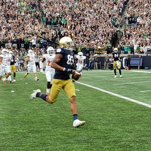Notre Dame Makes Easy Work of Bowling Green, Move to 4-1 on the Season