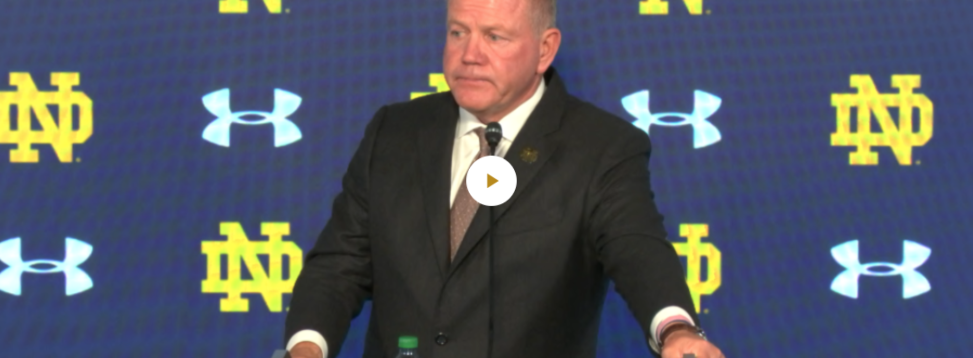 Brian Kelly Post-Game Press Conference vs Bowling Green