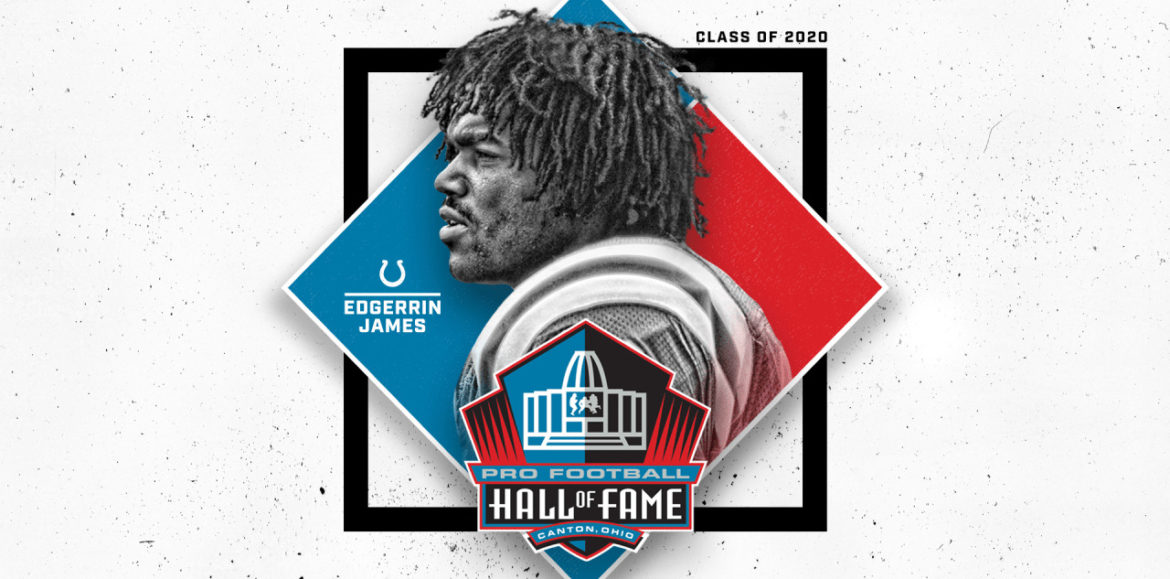 Edgerrin James Selected For Induction Into Pro Football Hall Of Fame