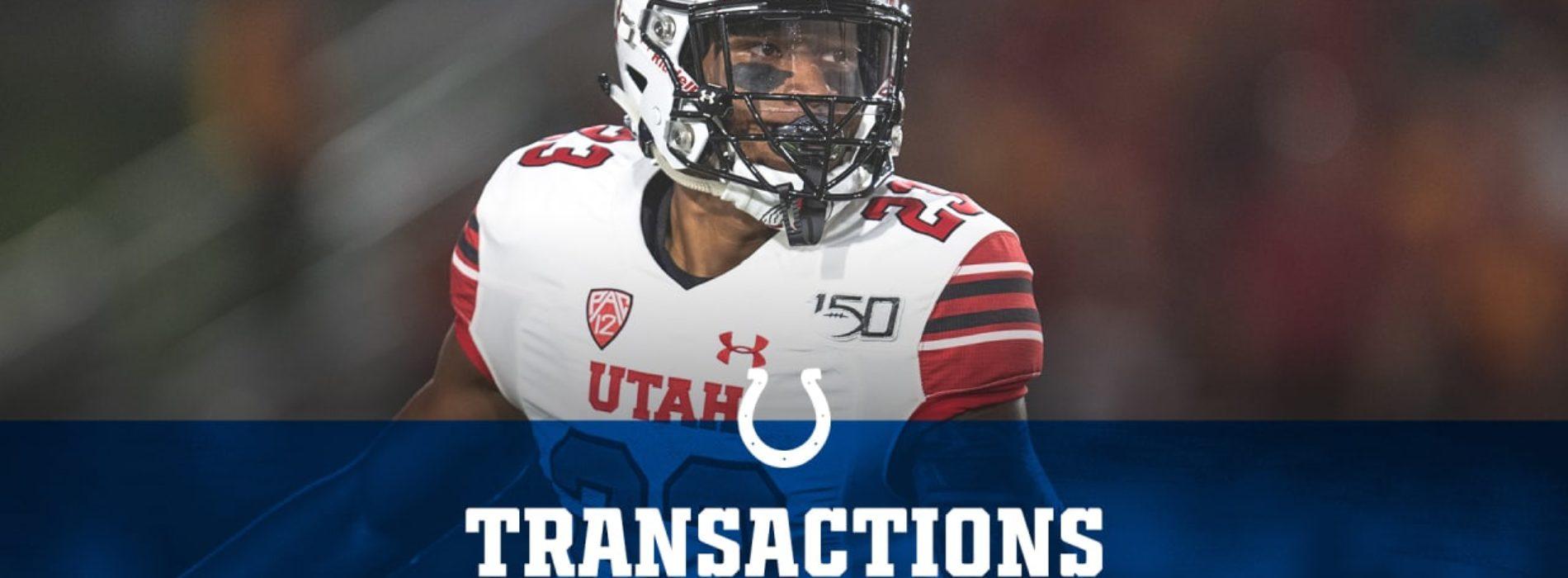Colts Sign 2020 Third-Round Pick Julian Blackmon